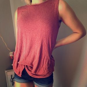 Old Navy, large, rust, tunic, tank top